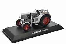 SCHLUTER AS 45 TRACTOR, 1954, 1:43 SCALE  Silver GREY Altaya