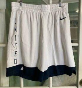 Men's Nike Team USA basketball Shorts White Limited RARE CD3190-100 Size XL