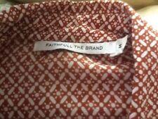 Faithfull The Brand from Designer Forum Gold Coast long shirt tunic M NWOT