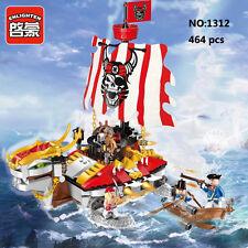 Enlighten Pirates Legendary 1312 Turtle Ship Building Block Toys blocks toy