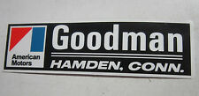 1970-88 AMC Hornet Gremlin Matador AMX Pacer etc Hamden CT NOS dealer sticker