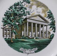 Antique Virginia Plate Imperial Salem Oh Mother Presidents Porcelain Vintage