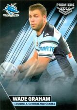 Cronulla Sutherland Sharks 2016 Season NRL & Rugby League Trading Cards