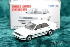[TOMICA LIMITED VINTAGE NEO LV-N10a 1/64] NISSAN SUNNY 1500 Turbo (White)