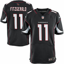 Larry Fitzgerald #11 Arizona Cardinals Men's Nike Black Home Game Elite Jersey