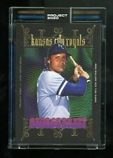 Topps Project 2020 George Brett by Ben Baller #271 In Hand PR Only 4,245! 6