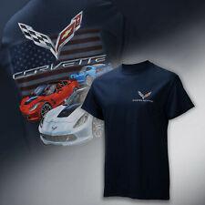 2017-2019 Corvette C7 Mens Patriotic Grand Sport T-Shirt 637041