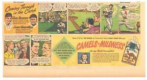 1949 - Camel Cigarettes comic ad - GENE BEARDEN and JOHNNY VANDER MEER - Clutch