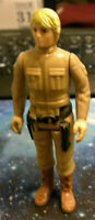 Vintage Kenner Star Wars Action Figure 1980 Luke Skywalker Bespin YELLOW HAIR