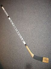 BRYAN TROTTIER PITTSBURGH PENGUINS GAME USED SIGNED VICTORIAVILLE STICK USE