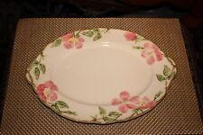 """Vintage Franciscan Desert Rose Serving Platter-Oval Shape-14 1/2"""" Long-Pink"""