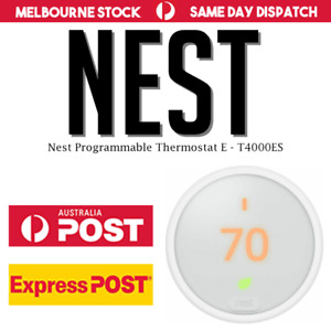 Nest Thermostat E - Control from anywhere! Latest Model! | AU STOCK