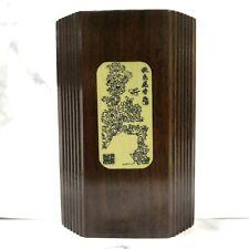 Premium quality wood pen Container brush Pot 精美木笔筒