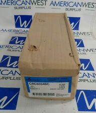 COOPER CRC6034BC POWERMATE SERIES CONNECTOR 60A 3WIRE 4 POLE 600VAC 250VDC *NEW*