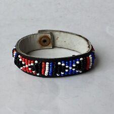 Masaai Beads African Unisex Handmade Kenyan Beaded Bracelet Masai Maasai