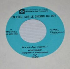 - TANTE LUCILLE Petits Lutins 7 inch Record Pierre Brabant Quebec -