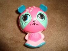2011 Mcdonalds Zoobles Spring to Life Pandama Colours Pink Green #6