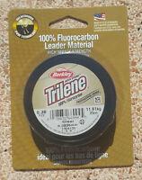 Fluorocarbon Berkley Trilene Leader 25 metri - 0.38 - 11.3Kg