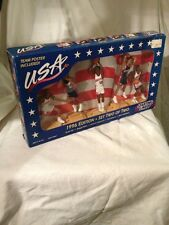 1996-STARTING LINE-UP -NBA DREAM TEAM SET 2 Of 2-MISB TEAM POSTER INSIDE -HTF !