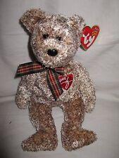 TY 2002 Signature Bear Beanie Baby MWMT