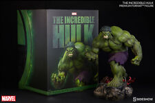 "SIDESHOW Marvel Comics INCREDIBLE HULK 20"" 1/4 Scale Premium Format Statue Green"