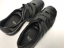 Stuart Weitzman 36 US 6 Stretch Strap Black Leather Shoes Spain Ladies