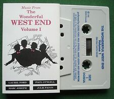 Music from The Wonderful West End V.1 inc Bring Him Home + Cassette Tape TESTED