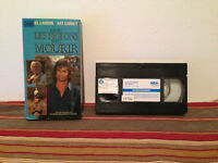 Where pigeons go to die / La ou les pigeons vont mourir VHS tape & sleeve FRENCH