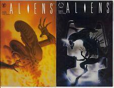ALIENS # 3 & 4 DARK HORSE COMICS 1990 NM