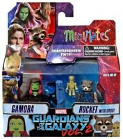 Guardians Of The Galaxy Figurine Gamora et Rocket Minimates Diamond Select