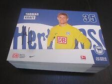 48823 Thomas Kraft Hertha BSC 2011-2012 original signierte Autogrammkarte
