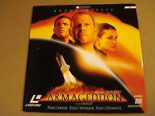 LASERDISC VERSION FRANCAISE / ARMAGEDDON ( BRUCE WILLIS )