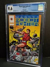 CGC 9.6 MAGNUS ROBOT FIGHTER #0 MAIL ORDER VARIANT EDITION WITH TRADING CARD