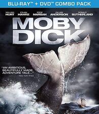 Moby Dick [Blu-ray + DVD Movie, Drama Adventure, Region A, 2-Disc] NEW