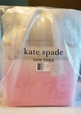 Kate Spade Medium Satchel Jae DEGRADE Radiant Pink Nylon Crossbody Tote 6955