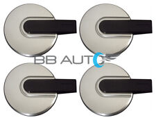 "NEW 2006-2010 HUMMER H3 16"" Wheel Hub Center Caps SET SILVER BLACK Bar Covers"