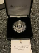 More details for tristan da cunha qeii solid silver proof £5 coin