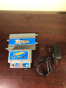 Hot Wheels Slot Car Challenge Level Go For It Power Supply + Transformer Working