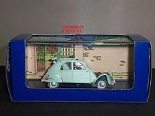 TINTIN NO.33 LES BIJOUX DE LA CASTAFIORE GREEN CITROEN 2CV DIECAST MODEL CAR