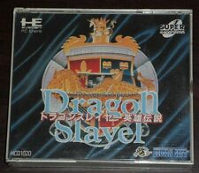 PC Engine. The Legend of Heroes Dragon Slayer
