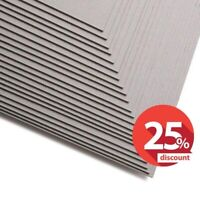 A4, A3 Greyboard 0.6mm 1mm 1.25mm 2mm 3000 Micron Card Thick Mount Board Backing