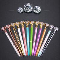 Diamond Head Crystal Ball Pen Concert Pen Creative Pen Stationery Gift New