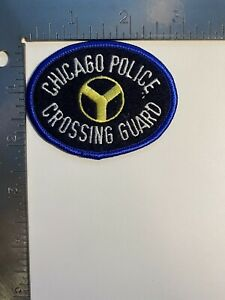CHICAGO POLICE CROSSING GUARD PATCH