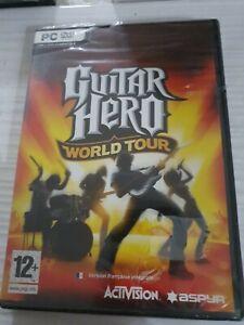 Guitar Hero World Tour _ PC DVD _ VERS FR & UK _ NEUF SCELLÉ,  SANS CELLOPHANE