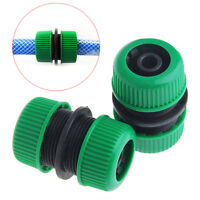 "2Pcs 1/2"" Hose Extend Pipe Joiner Mender Repair Adapter Connector Tool Garden"