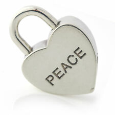 Tiffany & Co. Peace Padlock Charm in Sterling Silver