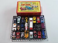Vintage Hot Wheels Matchbox & Other 24 Diecast Cars in Tara Toy Corp Case