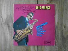 JIMMY SKIDMORE SKID MARKS, SIGNED VINYL LP 1972 Ronnie Ross British Jazz
