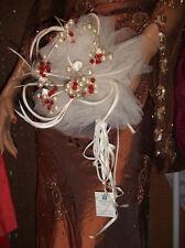 Bouquet rond ivoire et rouge bouquet de la mariée Mariage cérémonie mariage