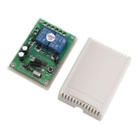 2 Channel RF 433MHz Wireless Remote Control Switch Relay Receiver Module DC 12V